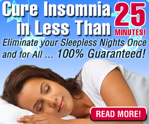 Natural Treatment for Insomnia Found